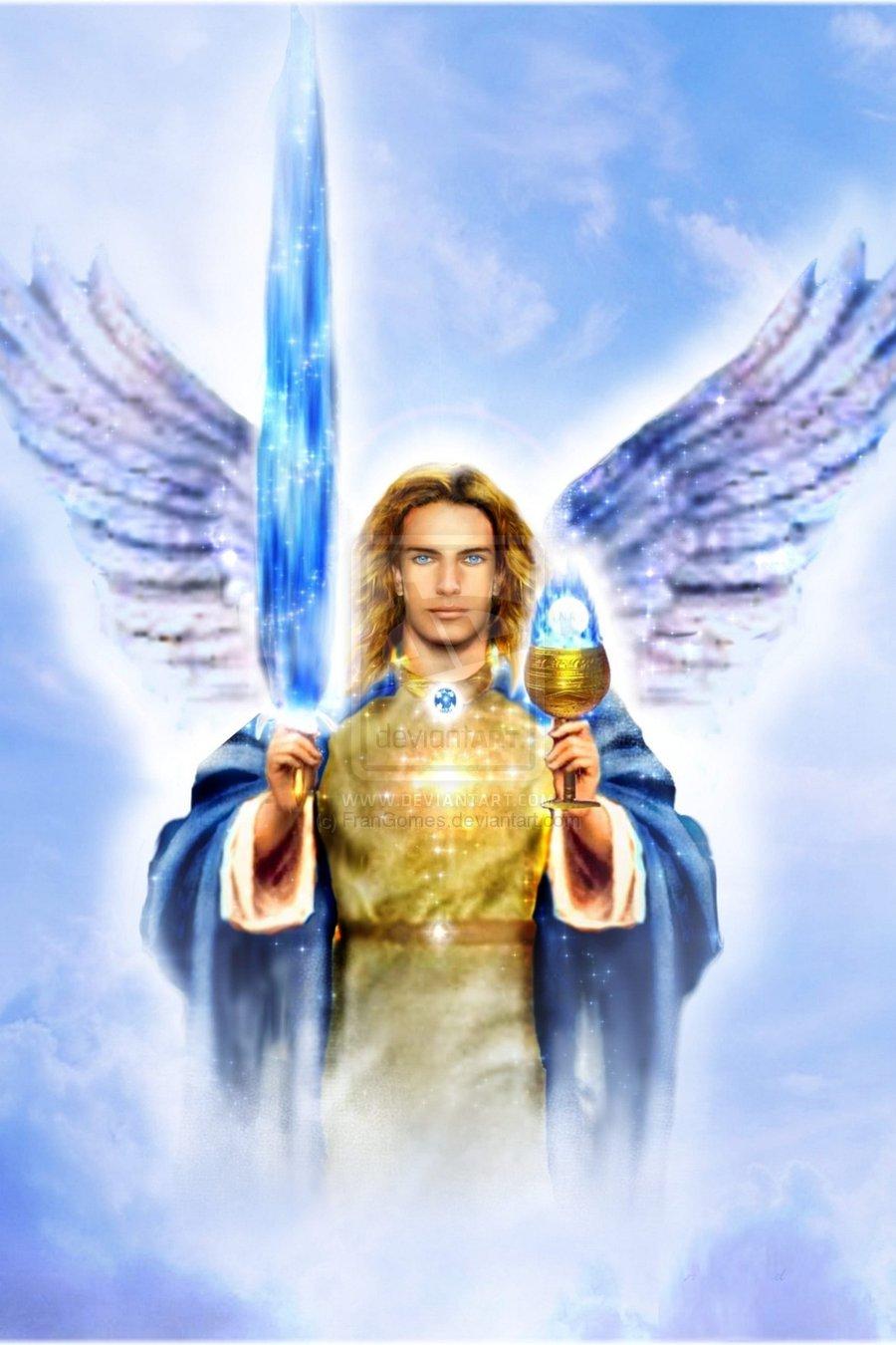 N'oublions pas nos chers anges-gardiens ! - Page 3 Archangel_michael_by_frangomes-d42es5p