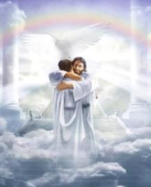 Jesus embrace