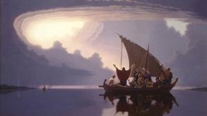 Jesus rebukes the wind and sea 2