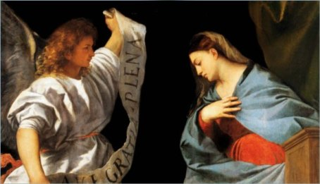 St. Gabriel and the Holy Mother