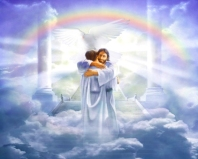 Jesus loves us; angel-love-blessings