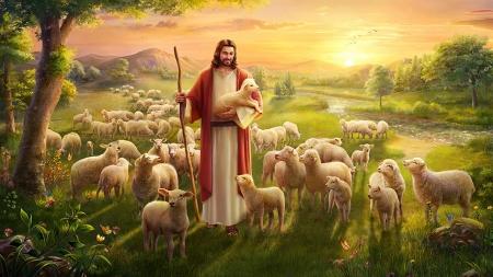 Jesus is the Good Sheperd